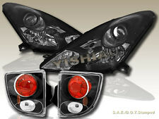 00 01 02 03 04 05 TOYOTA CELICA PROJECTOR HEADLIGHTS AND TAIL LIGHTS BLACK
