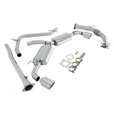 Manzo Stainless Steel Turbo Back Exhaust Muffler Golf VI / GTI 2.0T MK6 10-13