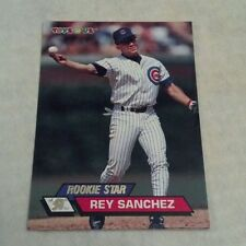 "REY SANCHEZ 1993 TOYS""R""US TOPPS STADIUM CLUB CARD # 60 A1866"