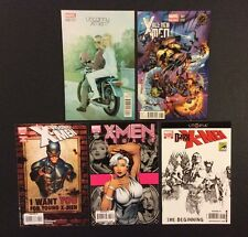 X-MEN Comic Books VARIANTS Lot of 5 Uncanny Legacy Dark Young SDCC EXCLUSIVE VF+