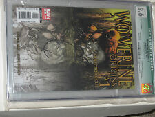 WOLVERINE ORIGINS DIRECTORS CUT COMIC NO. 1 CGC GRADED 9.6 SIGNED WHITE PAGES