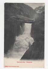 Switzerland, Goschener-Alp Wasserfall Postcard, A860