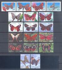 GRENADA CAR. 2001, Butterflies, set of 4 + 12 + 2, MNH** (205)