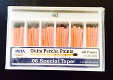 Bulk Gutta Percha Points .06 #40 5x Of 60/pk (300 Total Pieces)