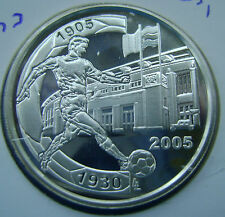 Belgium 10 Euro 2005 100th Ann. West Flanders Derby  75th Ann. of Heizel Stadium