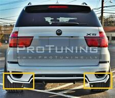 BMW X5 e70 10-13 Aero Performance Package Rear Bumper Spoiler aerodynamic flaps