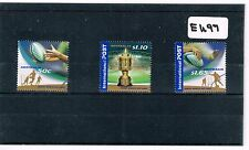 Australia 2003 Rugby World Cup 3 Values Fine Used    E497