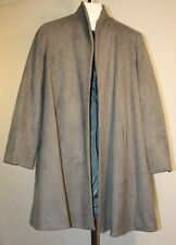 Estelle and Finn Womens Ladies Gray Open Front Swing Coat Size 6