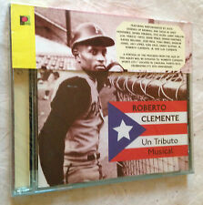 ROBERTO CLEMENTE CD UN TRIBUTO MUSICAL RLCD 1021 1998 LATIN MUSIC