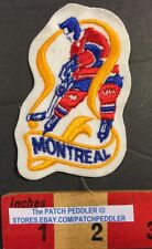 Vtg. Montreal Canadiens Club de Hockey Patch Canadians NHL Quebec Canada 57CC