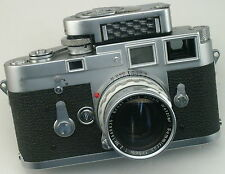 Leica M3 Single Stroke Rangefinder 35mm Film Camera  **** EXC+++ ****