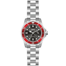 Invicta 22020 Gent's Red Accented Bezel Black Dial Dive Watch