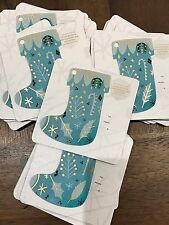 "NEW STARBUCKS ""STOCKING"" GIFT CARD 2016 LIMITED RARE HOLIDAY XMAS KEYCHAIN MINI"