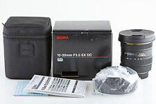 Sigma EX 10-20 mm 1:3,5 DC HSM IF ASP Objektiv für Nikon
