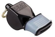 FOOTBALL REFEREE FOX 40 CLASSIC  WHISTLE WITH CMG (CUSHIONED MOUTH GUARD)