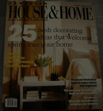 Canadian House & Home April 1994 25 Fresh Decorating Ideas That Welcome Spring