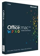 €184,99+IVA Office 2011 Home & Business per Mac Product Key (1 Codice) W6F-00190