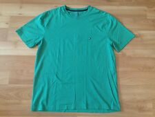 TOMMY HILFIGER MICRO FLAG T SHIRT MENS SIZE LARGE GREEN CASUAL