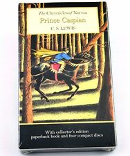 Prince Caspian Chronicles of Narnia C S Lewis Collectors Edition Book and 4 CDs