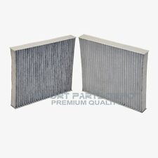 BMW AC Cabin Air Filter Charcoal Premium Quality 72642 (2pcs)