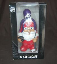DETRIOT RED WINGS NHL HOCKEY MAD HATTER TEAM LOGO GARDEN GNOME