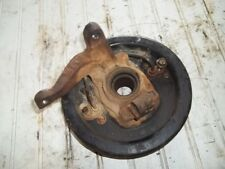 1997 YAMAHA BIG BEAR 350 2WD FRONT LEFT KNUCKLE WITH PLATE