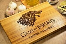 Game of Thrones, Wood Cutting Board, Chopping Board, Kitchen Board, Cheese board