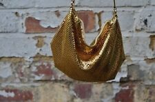 Vintage gold metal sequin evening bag perfect condition