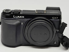 Panasonic LUMIX DMC-GX7 16.0MP MFT Digital Camera - Black (Body Only)