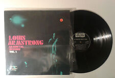 "Louis Armstrong ""Immortal session"" LP ARISTON AR LP 12004 Italy 1970 VG/VG"