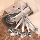 1 Set Heart Shaped Measuring Spoons Wedding Favors Party Bridal Shower Gift Love
