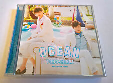 TVXQ DBSK Tohoshinki Ocean Japan Press CD+DVD - No Photocard