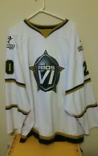 ED BELFOUR GAME WORN AND SIGNED JERSEY