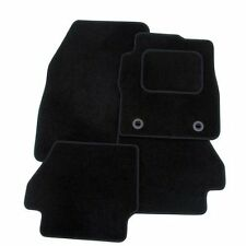 Perfect Fit Black Carpet Car Floor Mats for Mazda 2 (07-14) with Thick Heel Pad