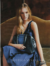"Publicité Contemporaine "" Mode Sac  Bottega Veneta ( P. 19 )"