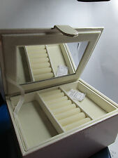 (New box for sales) Jewelry box - Inside Mirror, Felt Great gift