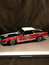 Welly GMP 1/18 Parnelli Jones 1969 Boss 302 Mustang T/A Diecast Display Model