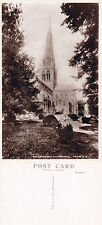 1940's CHICHESTER CATHEDRAL FROM NE CHICHESTER SUSSEX UNUSED RP POSTCARD