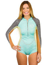 2015 NWT WOMENS BILLABONG SALTY DAYZ LS SPRING WETSUIT $105 size 6 multi 2mm