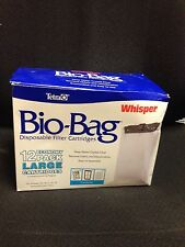 Tetra Bio-Bag Disposable Filter Cartridges Economy Pack 12 Large (Box dented )