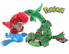 Pokemon Center Rayquaza & Groudon & Kyogre Plush Pokedoll Toy Valentine's Gift