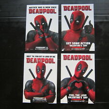 DEADPOOL Movie - Official Studio Promo Postcard Set (2 sets) NOT PROP MARVEL