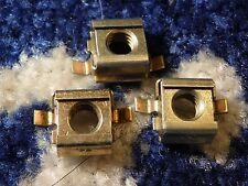3  FORD FORD CAPRI MK2 REAR WIPER MOTOR RETAINING CAPTIVE NUTS NEW OLD STOCK
