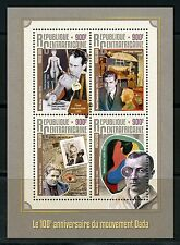 CENTRAL AFRICA 2016 100th ANNIVERSARY OF THE DADA MOVEMENT SHEET MINT NH