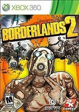 Borderlands 2 (Microsoft Xbox 360, 2012) GOOD