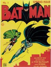 DC COMICS BAT MAN NO. 1 10 CENT COVER