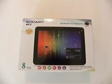 "NEW KOCASO Tablet PC Dual core/camera Google Android 4.0 8"" 1 GHz 8GB accessory"