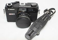 Very good Canon Canonet QL17 GIII G-III 35mm Rangefinder Film Camera Black