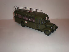1/43 French military ambulance bus Citroen C 45 / 1947