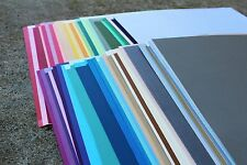 CLEARANCE - HUGE LOT! - 100 Sheets 12x12 Cardstock Solid Color Scrapbook Paper
